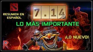 🆕 Resumen en ESPAÑOL Actualización 7.14 - Dota 2