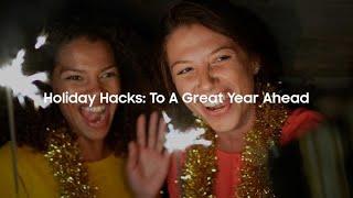 Holiday Hacks: To A Great Year Ahead thumbnail