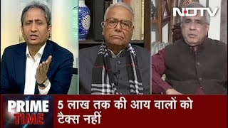 Prime Time With Ravish Kumar, Feb 01, 2019   3 Crore People Now Out of Taxpayers Base
