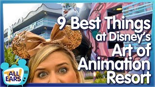 Why YOU Should Stay At Disneys Art Of Animation Resort!