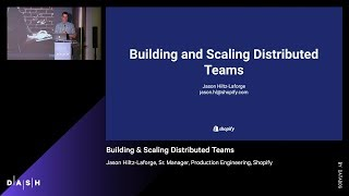 Building & Scaling Distributed Teams