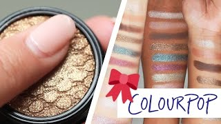 Different Skin Tones Try ColourPops Holiday Line