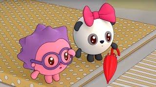 Малышарики - Раскраска для детей - Ручейки (Учим цвета с малышами)