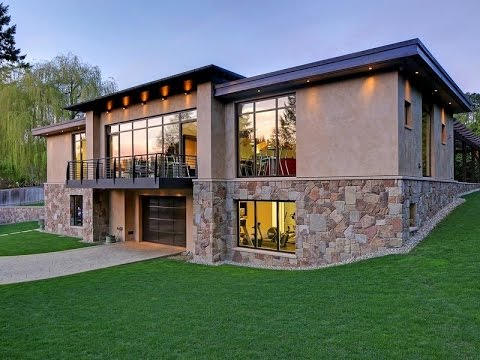 Modern Hideaway Car Collector's Dream Home in Bellevue, Washington