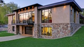 Modern Hideaway Car Collectors Dream Home In Bellevue, Washington