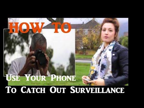 Anti-surveillance techniques