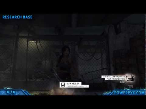 Tomb Raider - Sun Killer Challenge Collectibles (All Totem Locations)