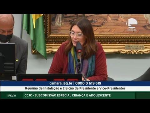 CCJC - Subcomissão Especial Criança e Adolescente -  Reunião de instalação e eleição - 13/10/2021