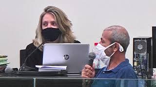 Foi levado a júri nesta quarta-feira um homem acusado de homicídio praticado no mês de outubro de 2020, no residencial barreiro em Patos de Minas.