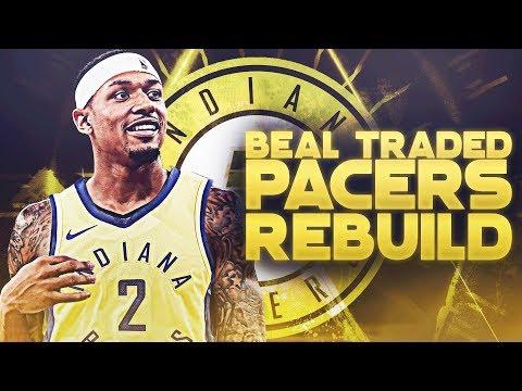 Bradley Beal Traded! Indiana Pacers Rebuild   NBA 2K19