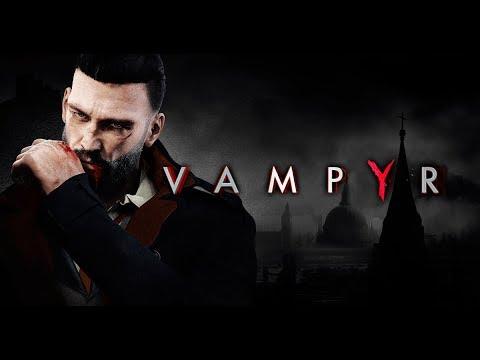 VAMPYR All Cutscenes (Game Movie) 1080p HD