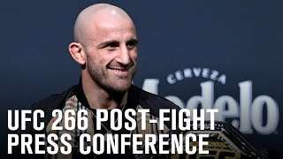 UFC 266: Post-fight Press Conference