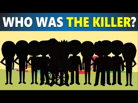 3 riddles popular on crime (part 6) - Murder mystery riddles - Who did it? - Can you solve it?