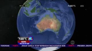 Gempa Berkekuatan 78 SR Guncang Pulau Selatan New Zealand  NET24