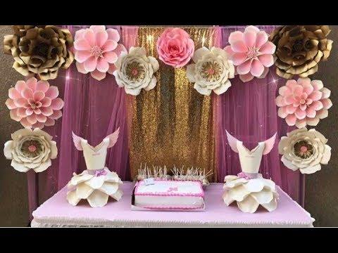 Tips para decorar tus eventos, fiestas y Cumpleaños con estas maravillosas flores de papel