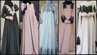 Sevintage Long Sleeve Muslim Prom Dresses/Arabic Womens Chiffon Formal Evening Gowns/Abaya Dress