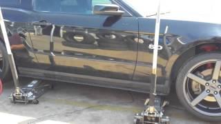2011 Mustang gt my new wheels 551c mmd
