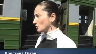 Новый электропоезд Россия - Абхазия