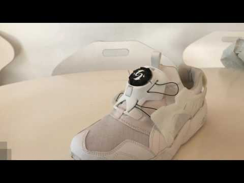 How to remove the disc on a Puma Disc Blaze - tutorial and on feet