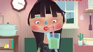 Веселая игра для детей: Готовим еду Toca Kitchen 2 обзор игры