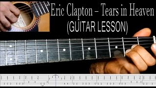 eric clapton tears in heaven guitar lesson - 免费在线视频最