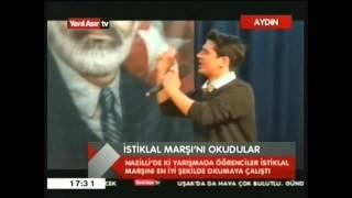 Nazilli Eml İstiklal Marşı Okuma Yarışması SkyTv