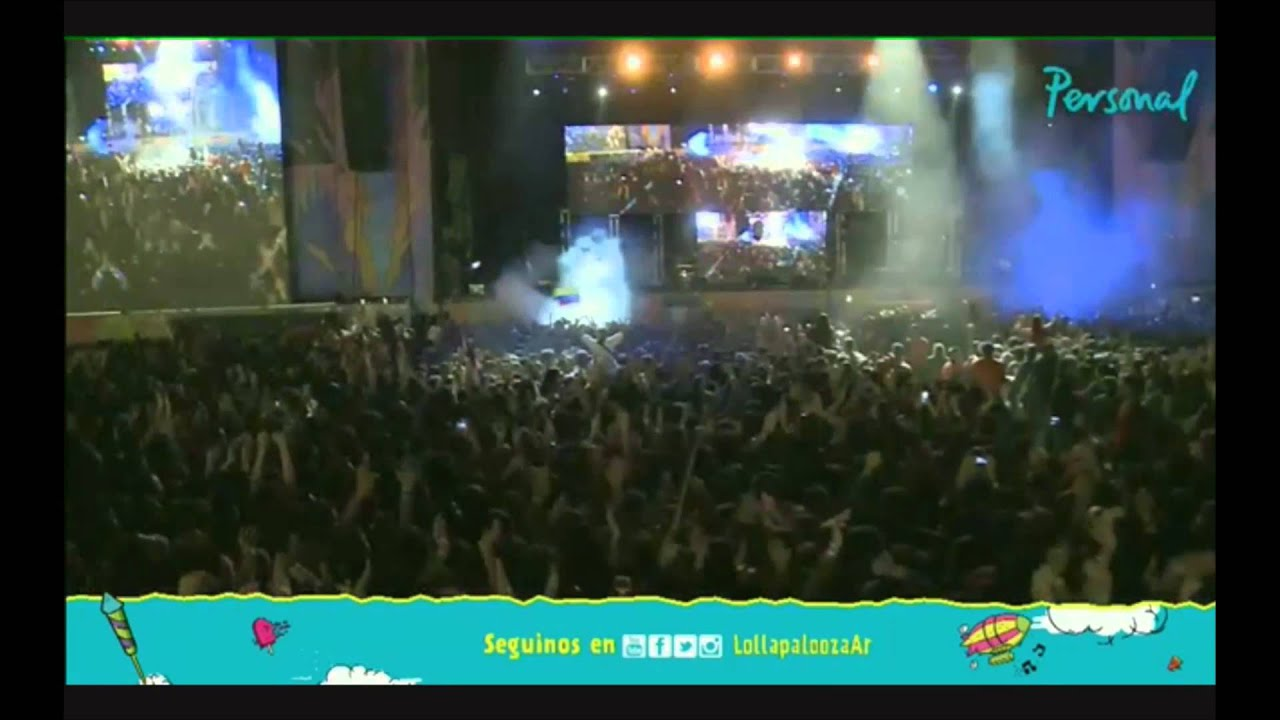 Skrillex - Live @ Lollapalooza in Argentina 2015