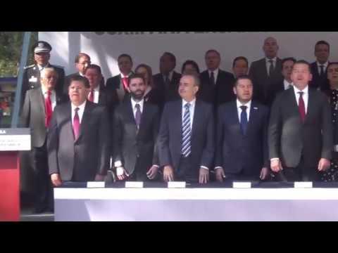 Fernando Manzanilla Prieto - Ceremonia del CCXIII Aniversario del Natalicio de Benito Juárez