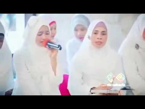 Women Beautiful Quran recitation  Surah ar-Rahman
