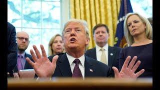 News Wrap: Trump says he