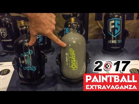 First Strike FS Hero Tanks | 2017 Paintball Extravaganza | Lone Wolf Paintball