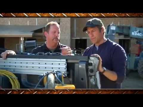 Screen capture of Mike Rowe Installs U-Lock