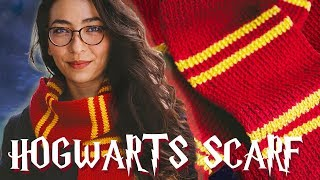 HARRY POTTER SCARF Knitting Pattern (for muggles!)