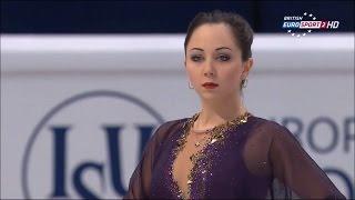 2015 Europeans - Elizaveta Tuktamysheva FS B.ESP2