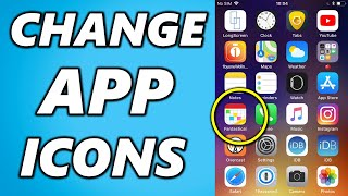 How To Change App Icons On IPhone! (2020 TRICK)