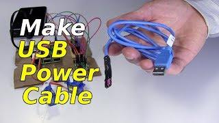 Make USB Power Cable