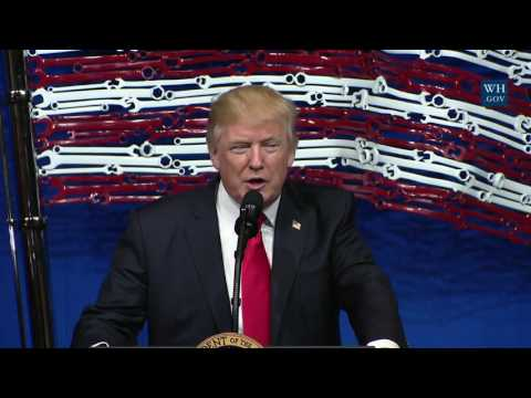 President Trump Makes Remarks and Signs the Buy American, Hire American Executive Order