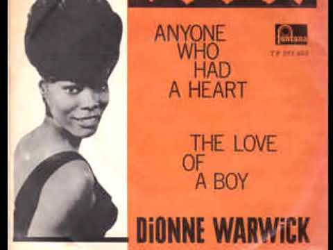 "Dionne Warwick ""Anyone Who Had A Heart"" 1964 My Extended Version!  By Request."