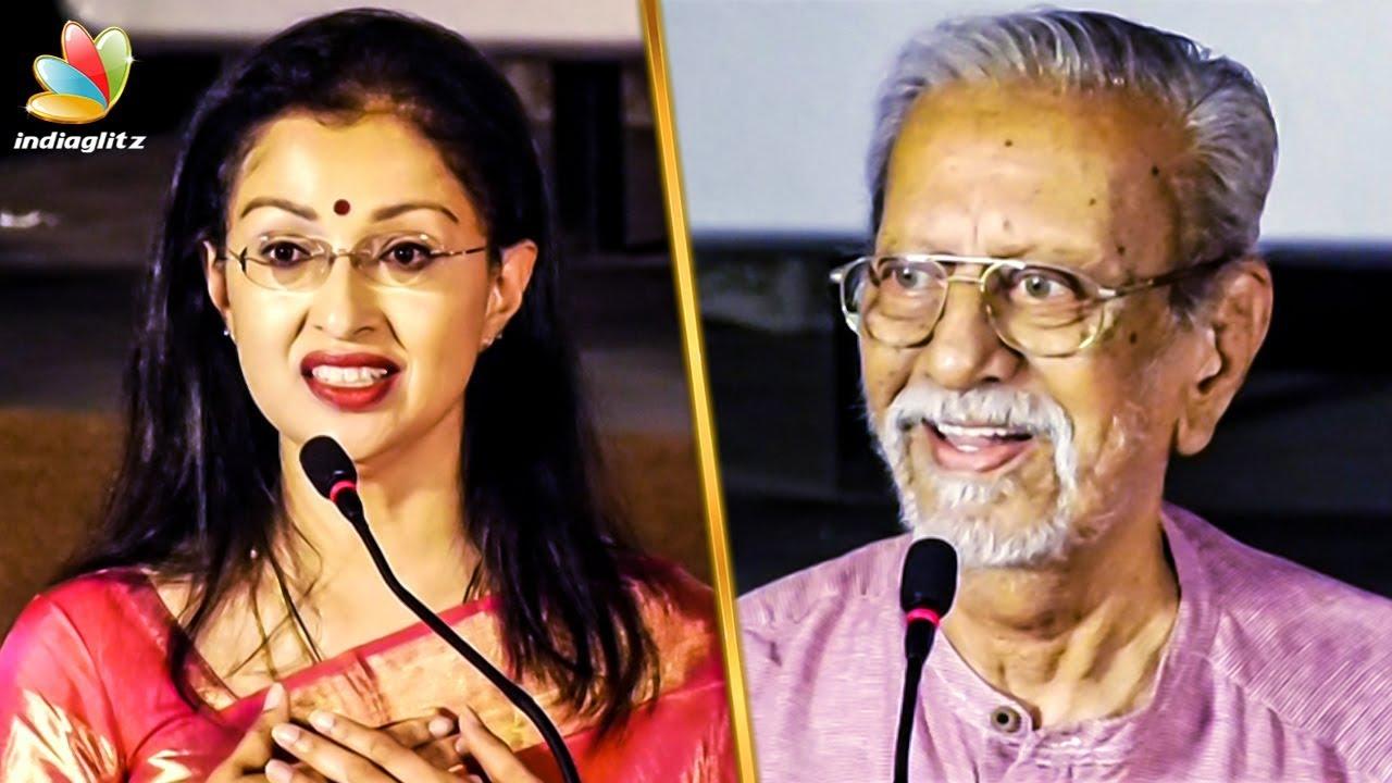 எல்லா விதத்துலயும் நான் உங்க FAN : Gauthami Speech   Charuhasan   DhA DhA 87 Audio Launch