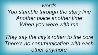 10cc - I Hate To Eat Alone Lyrics