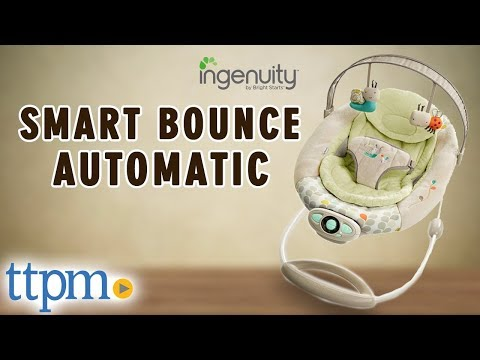 Ingenuity Smartbounce Automatic Bouncer From Kids Ii