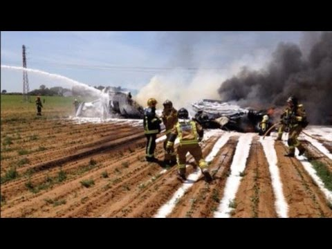 Video of Airbus A400M crash at Seville in 2015 - Aircraft
