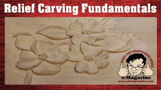 6 Fundamental Rules Every Beginning Wood Carver Should Know Relief Carving Tutorial
