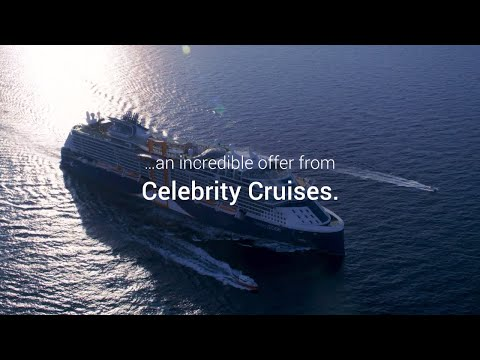 Celebrity Cruises Offer! | Free Drinks and up to $300 on-board Spend... Plus more!