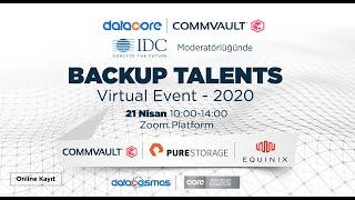 Datacore & Commvault | Backup Talents Virtual Event 2020 Intro
