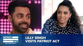 Hasan Helps Lilly Singh Get Ready For Late Night | Patriot Act with Hasan Minhaj | Netflix