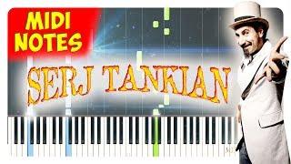 Serj Tankian - Sky Is Over Piano Tutorial (Piano Sheets + midi)
