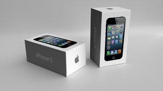 Blender Tutorial iPhone 5 Box Packaging