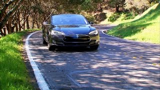 CNET On Cars - On the road: 2015 Tesla Model S P85D