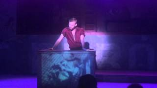 """Audience Recording of Evita's """"And The Money Kept Rolling In"""" - Performance by Dale Sampson"""